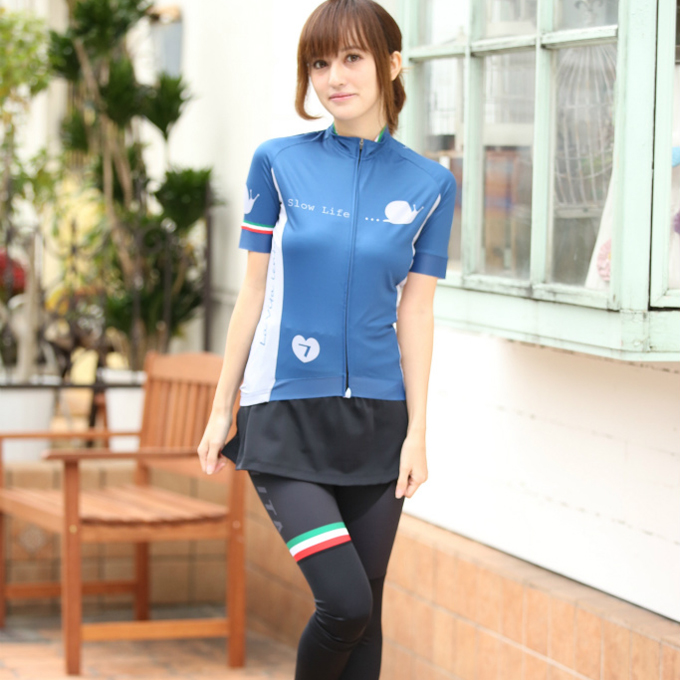 7ITA Slow Life Lady Jersey Blue